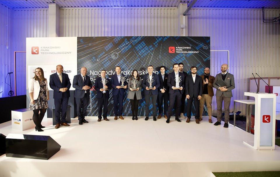 Laureaci nagród Krakowskiego Parku Technologicznego