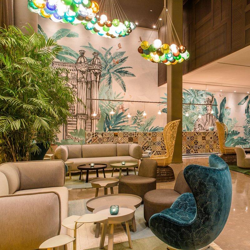 Motel One Barcelona-Ciutadella_One Lounge © Motel One_02, Fot. Materiały prasowe Pfleiderer.JPG