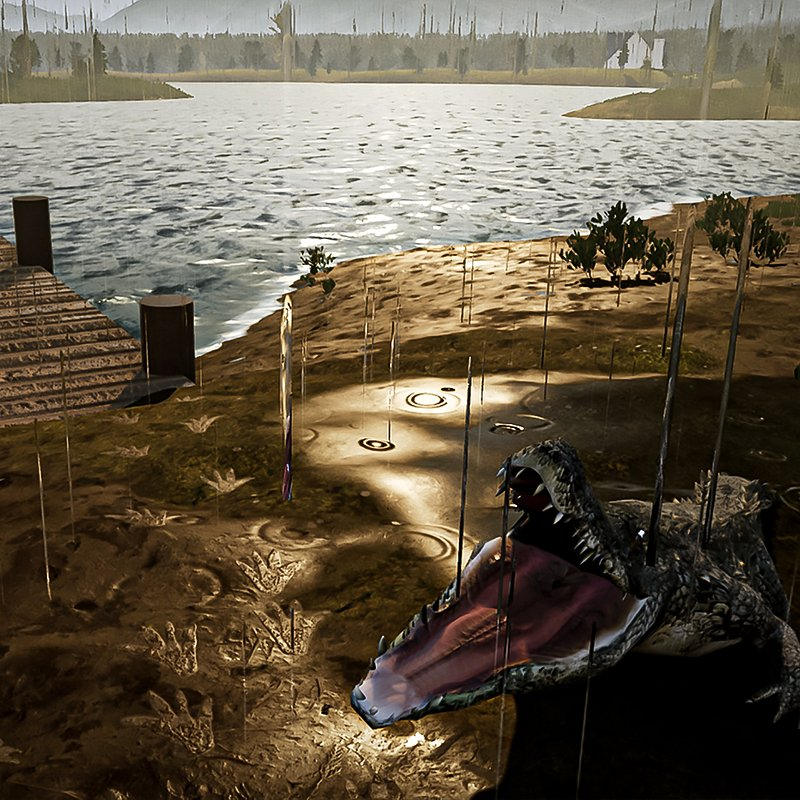 The Dust_Exterminator Simulator_aligator, photo The Dust press materials.jpg