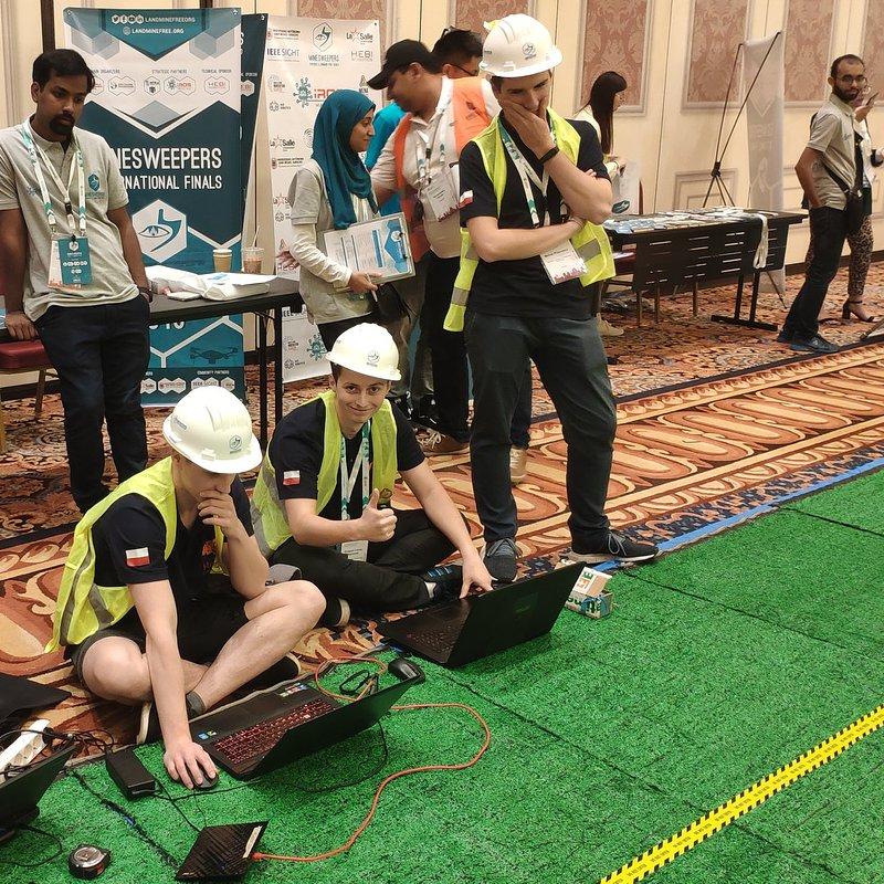 KoNaR podczas międzynarodowych zawodów Minesweepers towards a landmine-free world, fot. materiały prasowe KoNaR (3).jpg