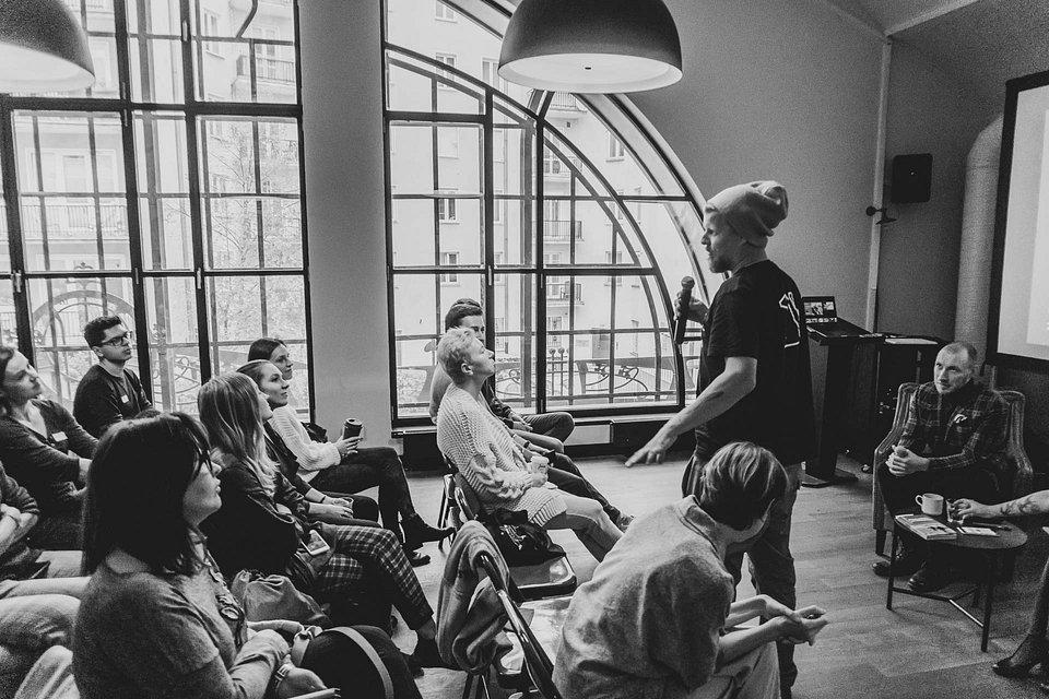 Podczas Content espresso stawiamy na dyskusję - każdy może się włączyć. Foto by filmuj.pro