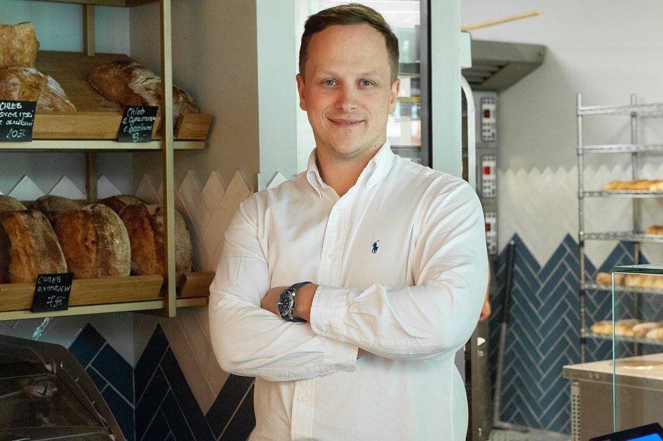 Bartek Rychcik, właściciel Bakery Browary Warszawskie