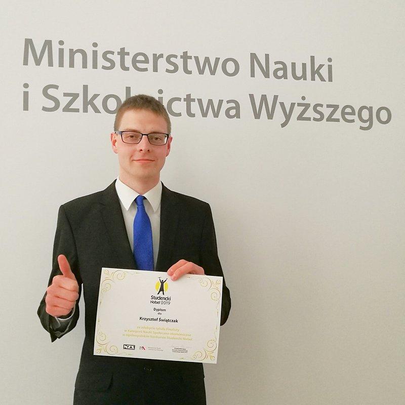 Studencki Nobel_Krzysztof Swiatczak_fot. Jacek Polczynski_3.jpg