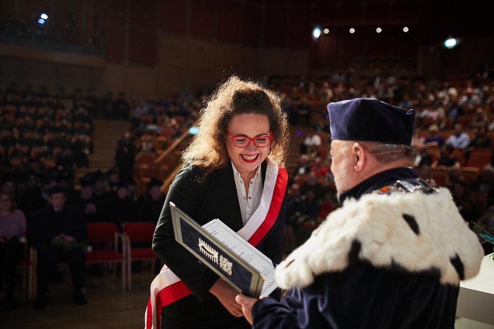 Wyróżnienie Natalii Konowalik, absolwentki WSB Gdańsk