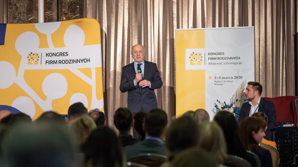 Dr hab. Krzysztof Safin, prof. WSB, Dyrektor Centrum Biznesu Rodzinnego Wyższej Szkoły Bankowej we Wrocławiu.