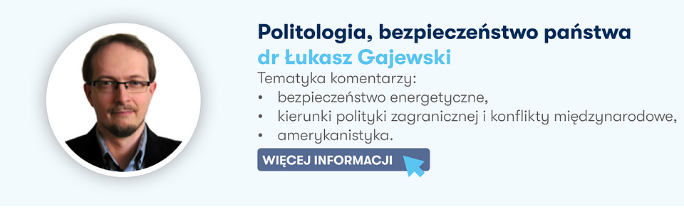 Autor artykułu dr Łukasz Gajewski.