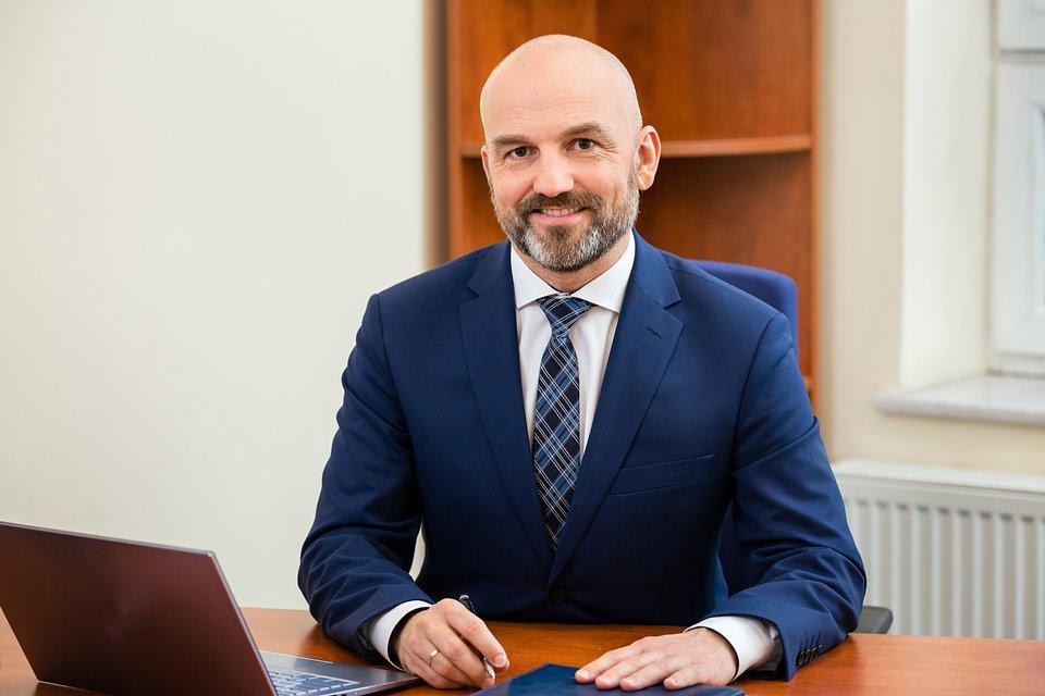 Dr Rafał Koczkodaj, Dziekan Wyższej Szkoły Bankowej w Szczecinie