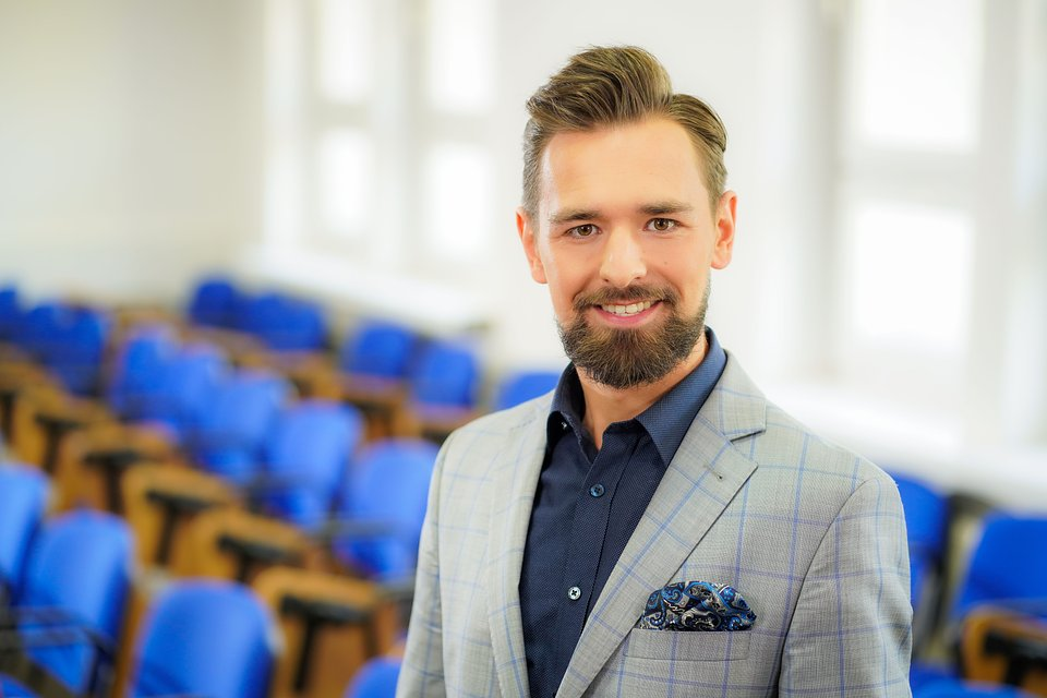 Kamil Zieliński, psycholog, Ekspert WSB w Chorzowie