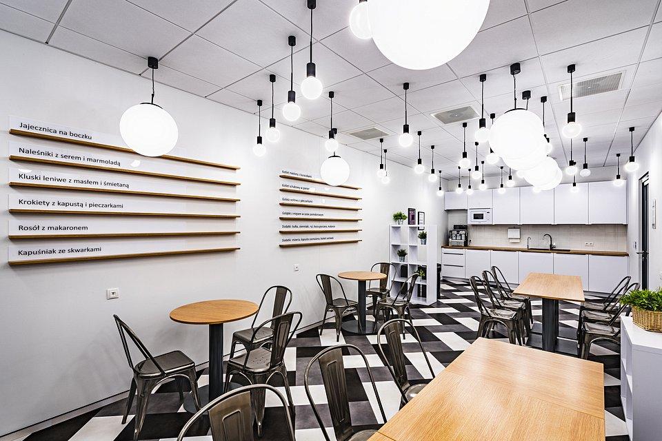 Biuro firmy Kantar w Warszawie, projekt i realizacja Tétris