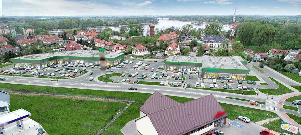 Vendo Park w Myśliborzu - wizualizacja