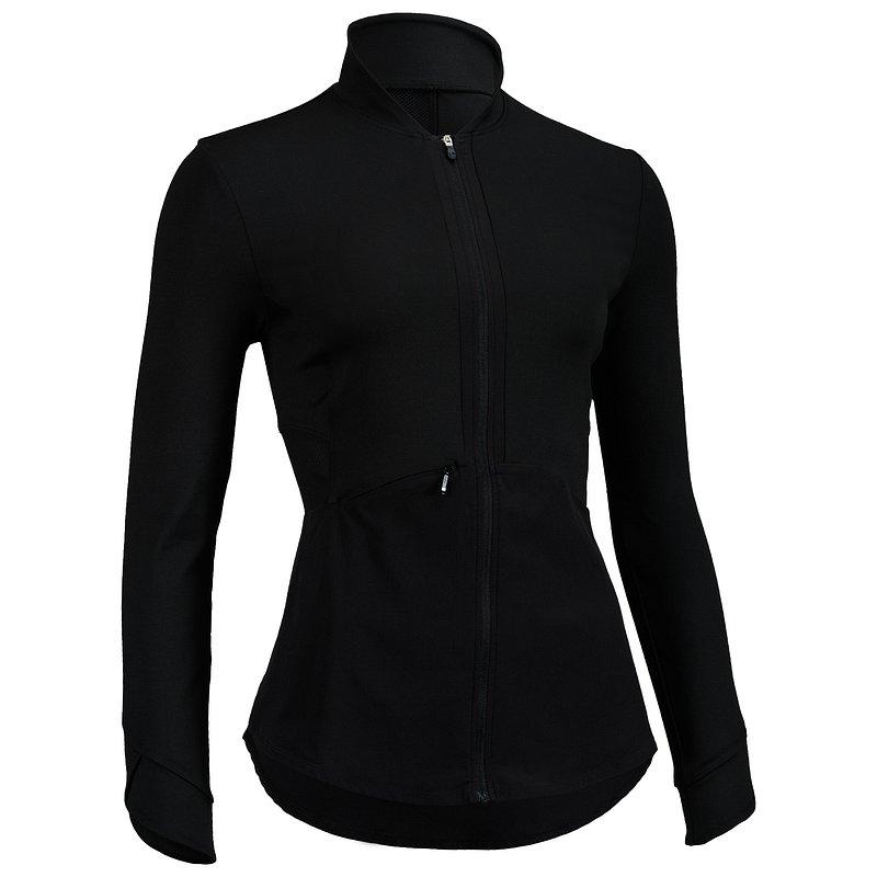 Decathlon, bluza na zamek fitness cardio 500 damska Domyos, 84,99 PLN.jpg