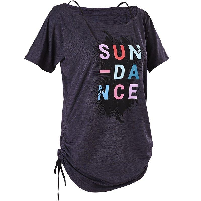 Decathlon, koszulka taniec fitnessowy damska Domyos, 59,99 PLN.jpg