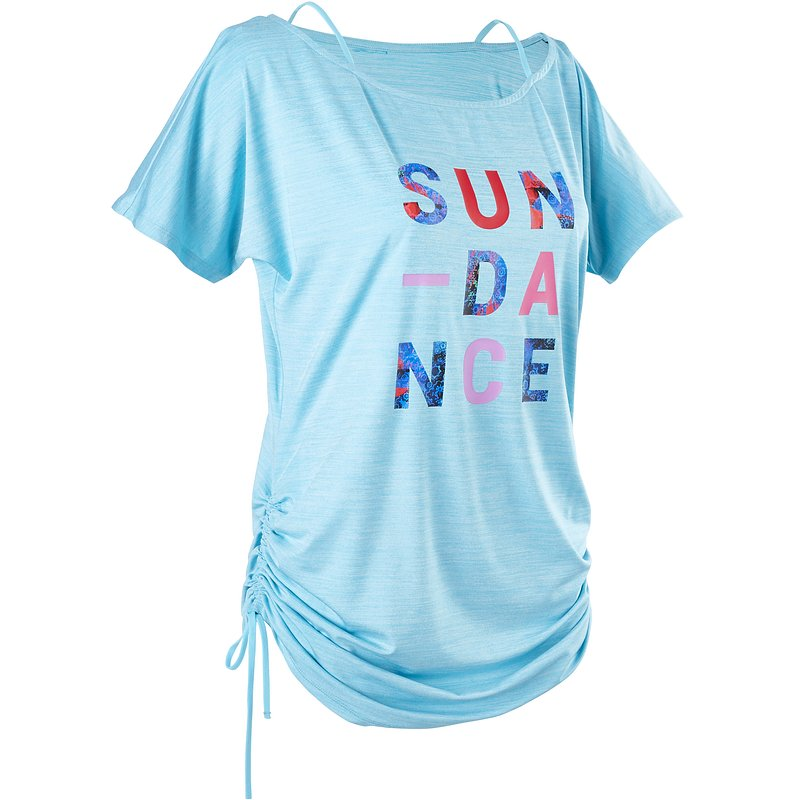 Decathlon, koszulka taniec fitnessowy damska Domyos, 59,99 PLN (2).jpg