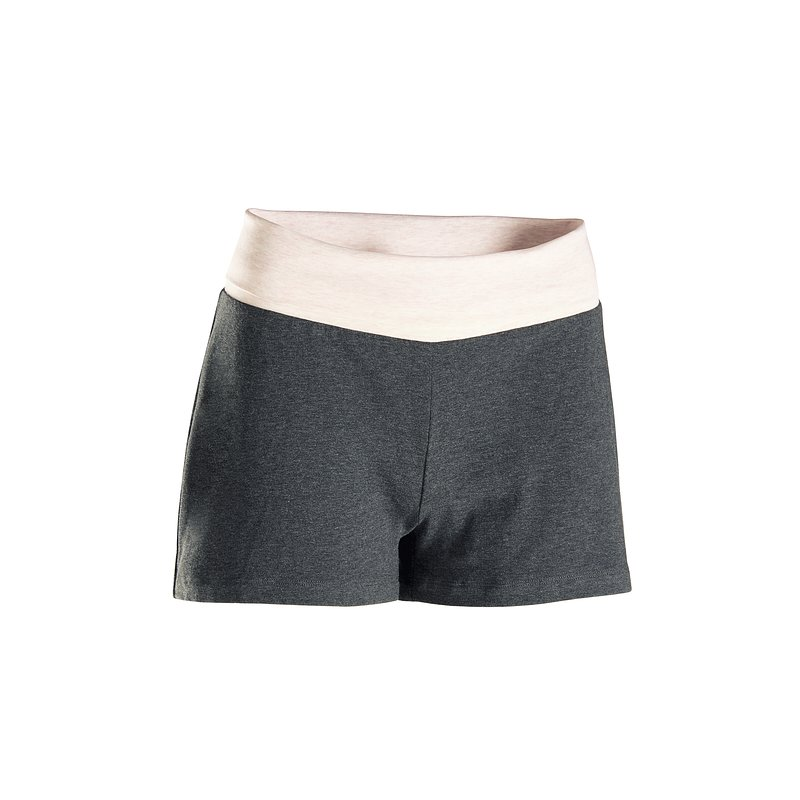 DOMYOS SHORT YOGA DOUX FEMME GRIS PE20 - 000 --- Expires on 01-11-2024.jpg