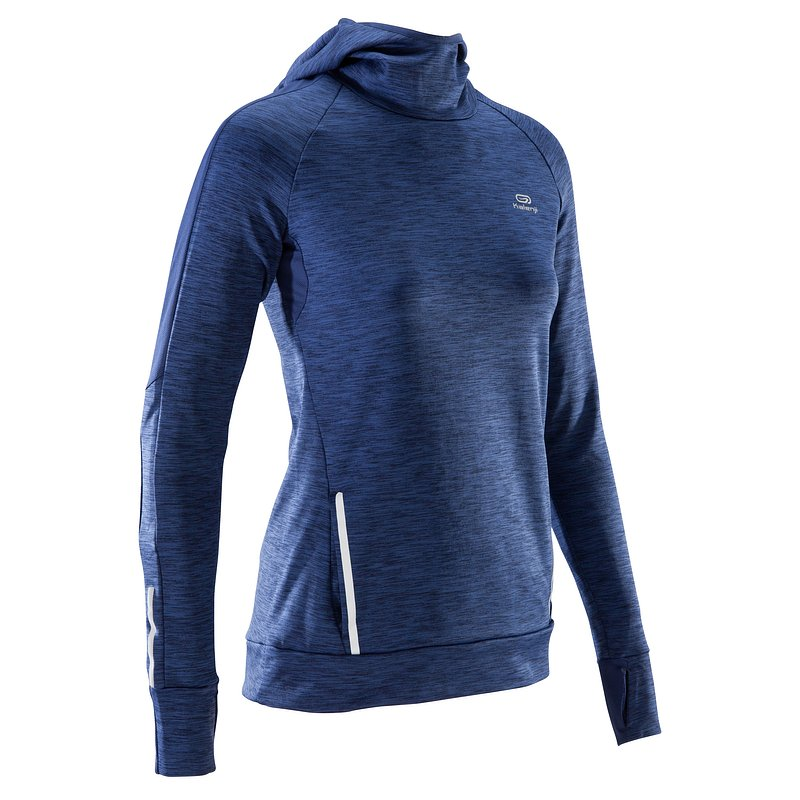 Decathlon, bluza do biegania run warm hood damska Kalenji, 69,99 PLN (4).jpg