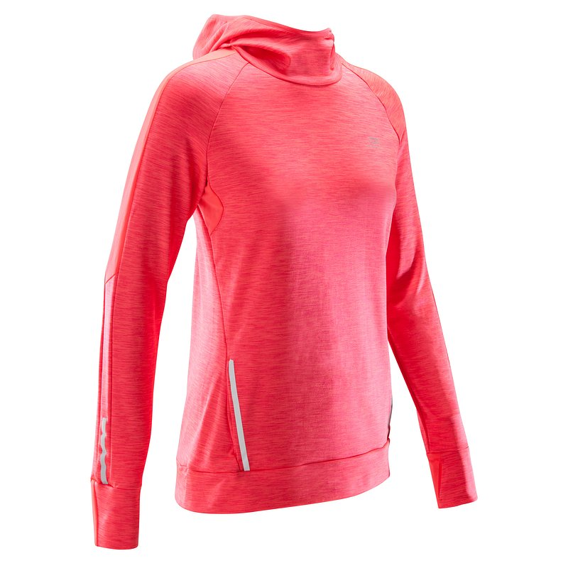 Decathlon, bluza do biegania run warm hood damska Kalenji, 69,99 PLN.jpg