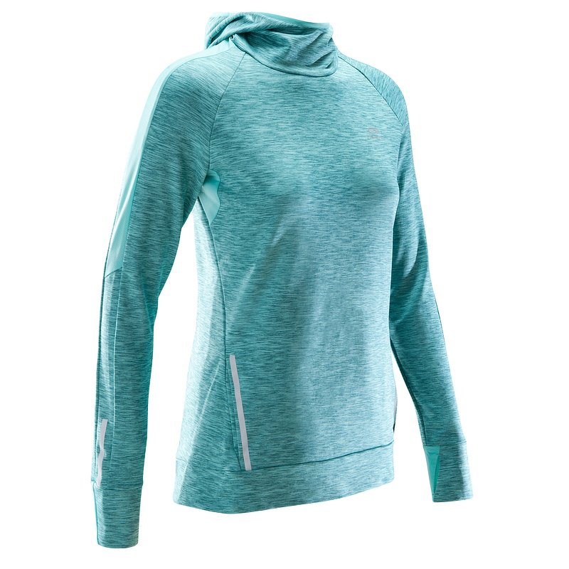Decathlon, bluza do biegania run warm hood damska Kalenji, 69,99 PLN (5).jpg