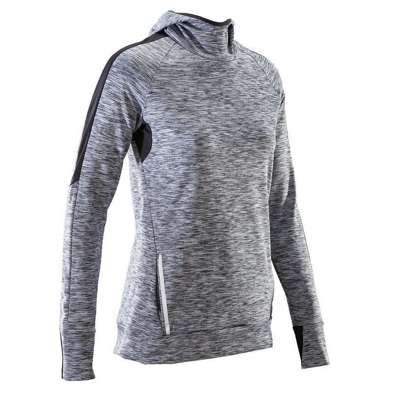 Decathlon, bluza do biegania run warm hood damska Kalenji, 69,99 PLN (3).jpg