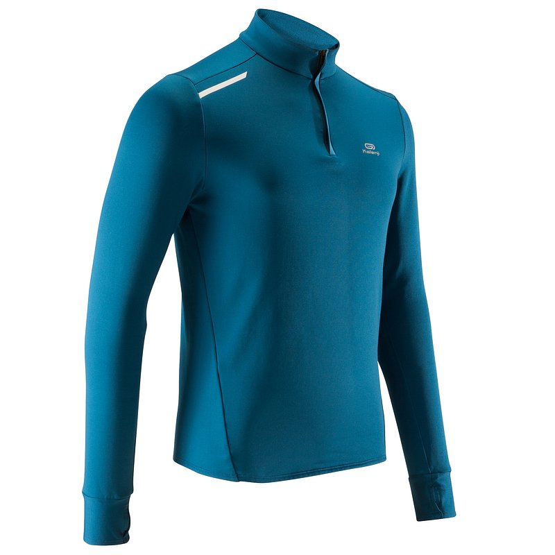 Decathlon, bluza do biegania run warm męska Kalenji, 34,99 PLN (4).jpg