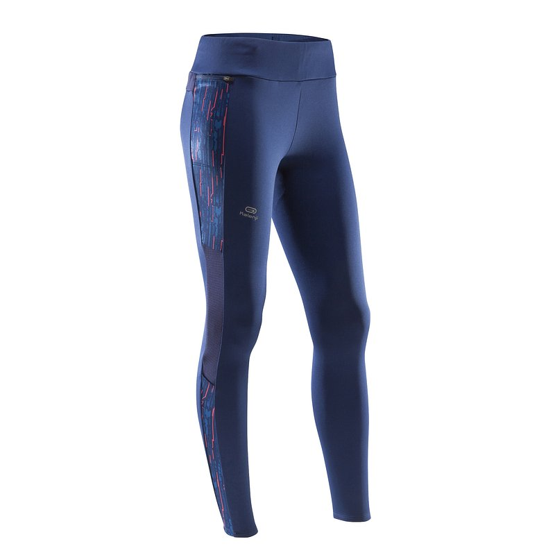Decathlon, ciepłe legginsy do biegania run warm damskie Kalenji, 69,99 PLN (2).jpg