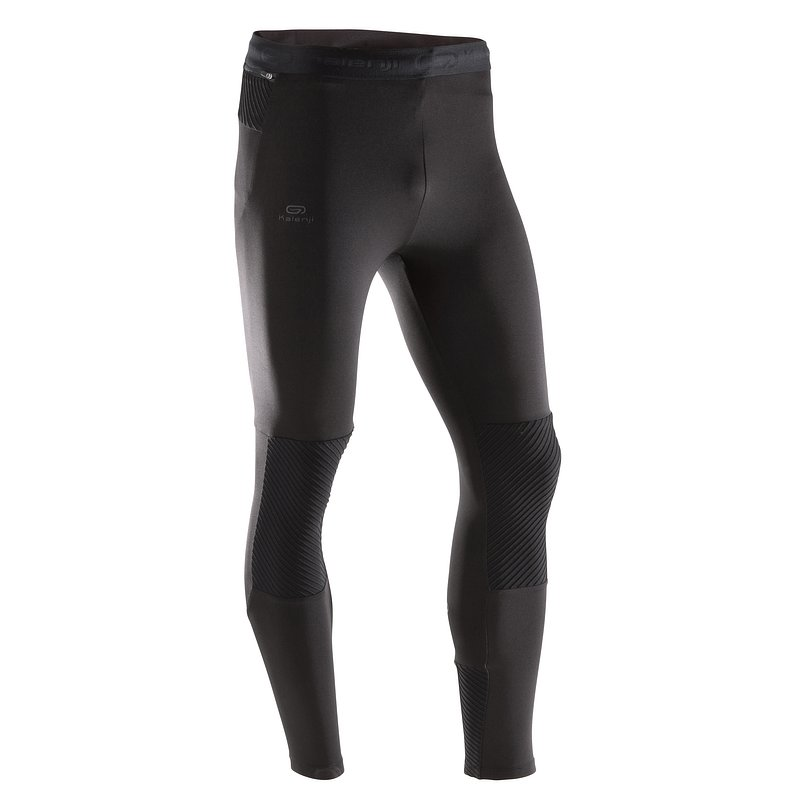 Decathlon, legginsy do bieganai run warm męskie Kalenji, 69,99 PLN.jpg
