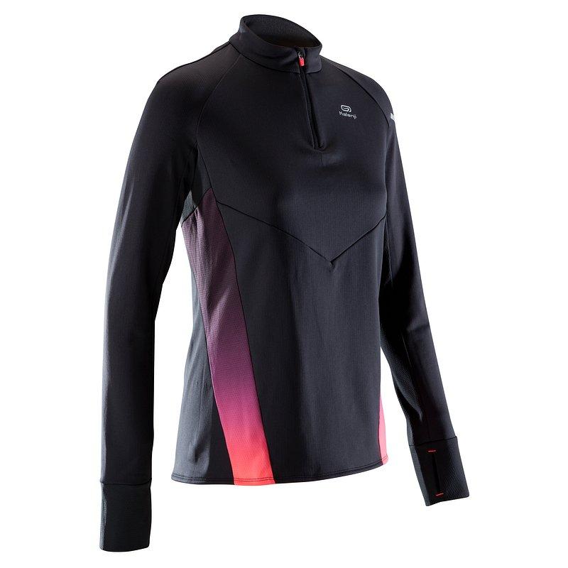 Decathlon, bluza do biegania długi rękaw Kiprun warm light damska Kalenji, 99,99 PLN.jpg