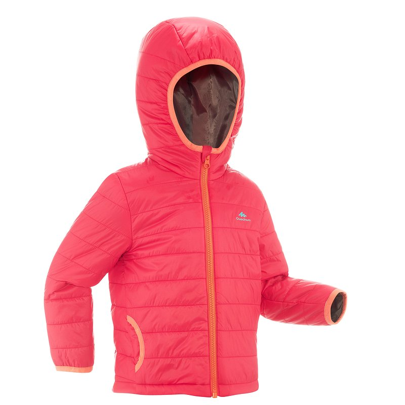 Decathlon, kurtka turystyczna dla dziewczynek Quechua, 69,99 PLN.jpg
