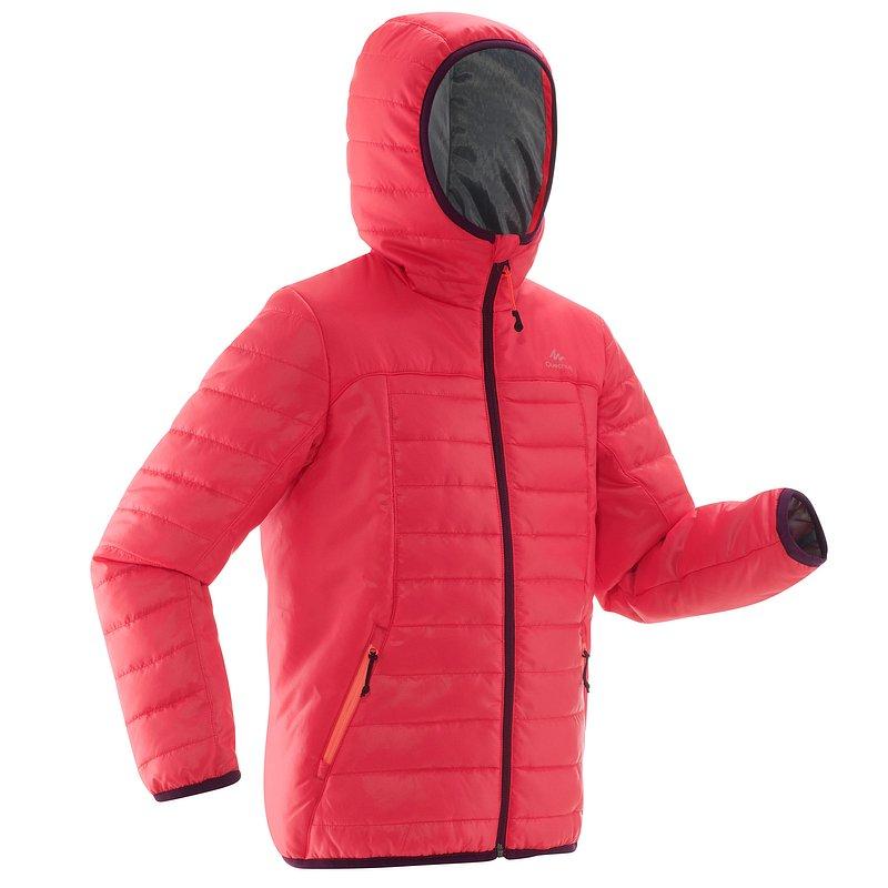 Decathlon, kurtka turystyczna dla dziewczynek Quechua, 79,99 PLN (2).jpg