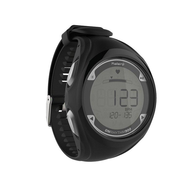 Decathlon, zegarek do biegania z pulsometrem onrythm 900 Kalenji, 219,99 PLN.jpg