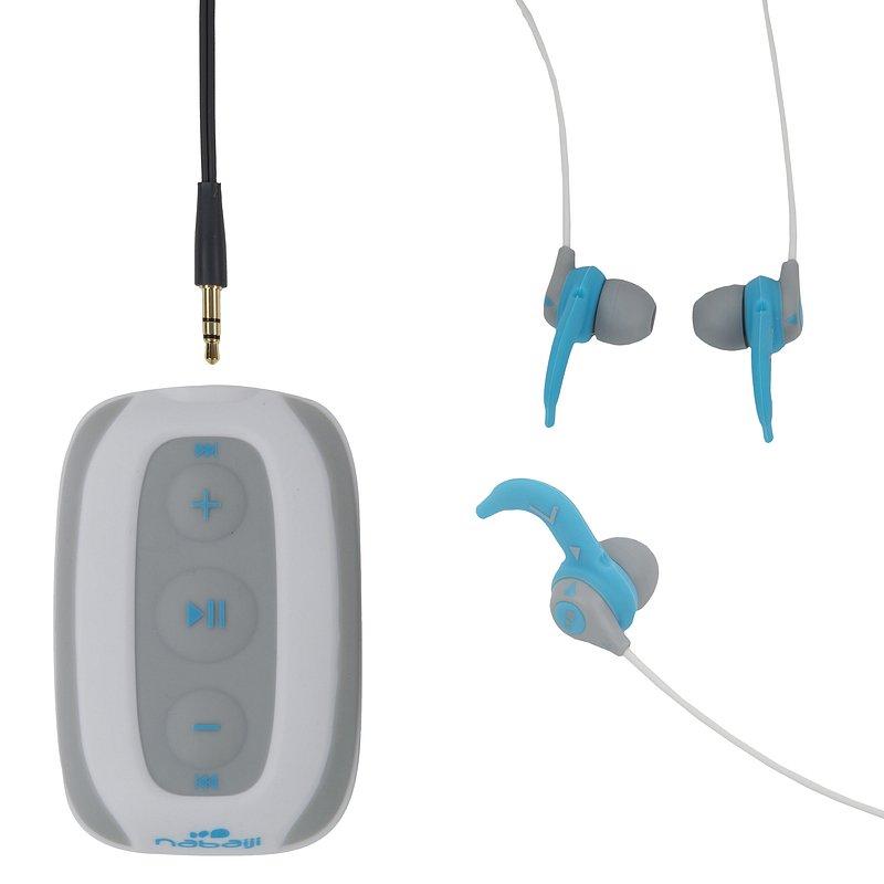 Decathlon, odtwarzacz pływacki mp3 swimmusic 100 V2 + słuchawki Nabaiji, 129,99 PLN (2).jpg