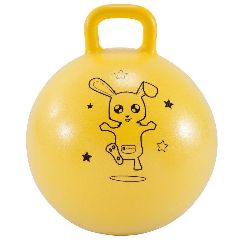 Decathlon, piłka do skakania 45cm dla dzieci Domyos, 34,99 PLN.jpg