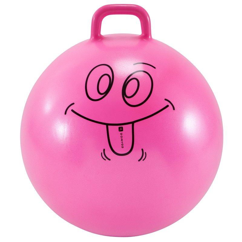 Decathlon, piłka do skakania 60cm dla dzieci Domyos, 49,99 PLN (2).jpg