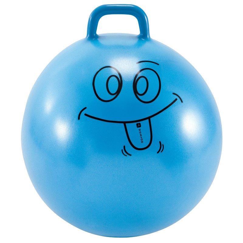 Decathlon, piłka do skakania 60cm dla dzieci Domyos, 49,99 PLN.jpg