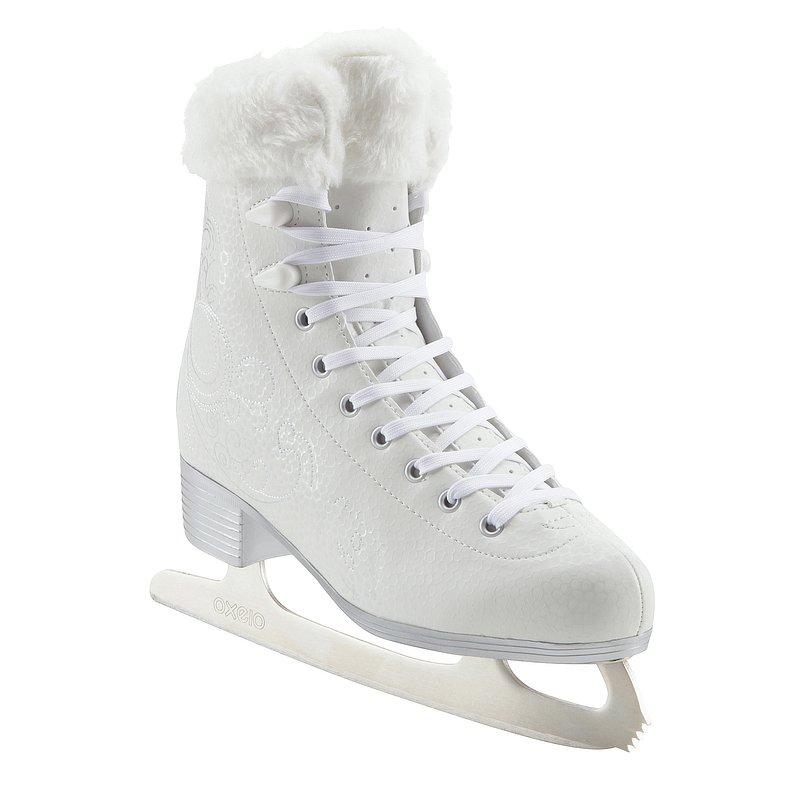 Decathlon, łyżwy figurowe 500 białe Oxelo, 149,99 PLN.jpg