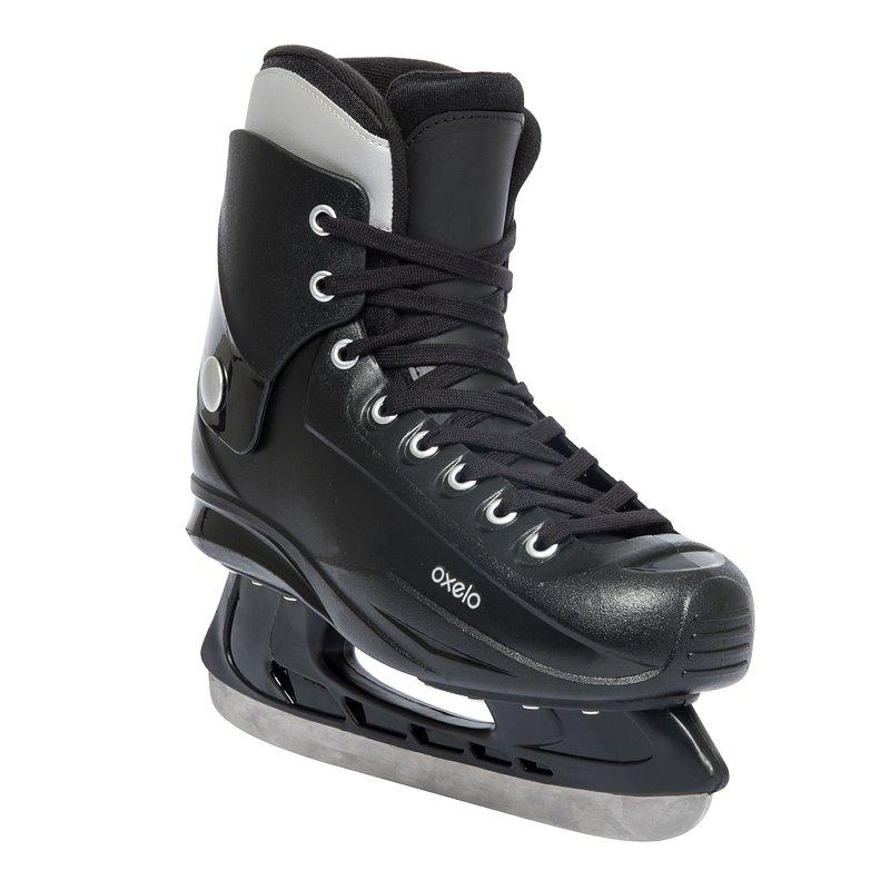 Decathlon, łyżwy fit50 czarne Oxelo, 99,99 PLN.jpg