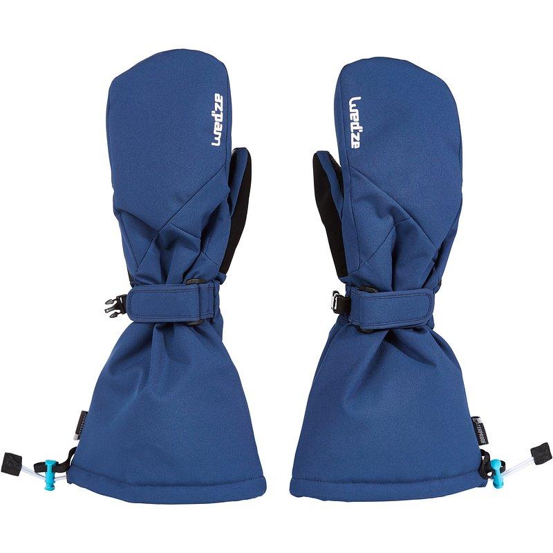 Decathlon, rękawice narciarskie jednopalczaste dla dzieci Wed'ze, 69,99 PLN.jpg