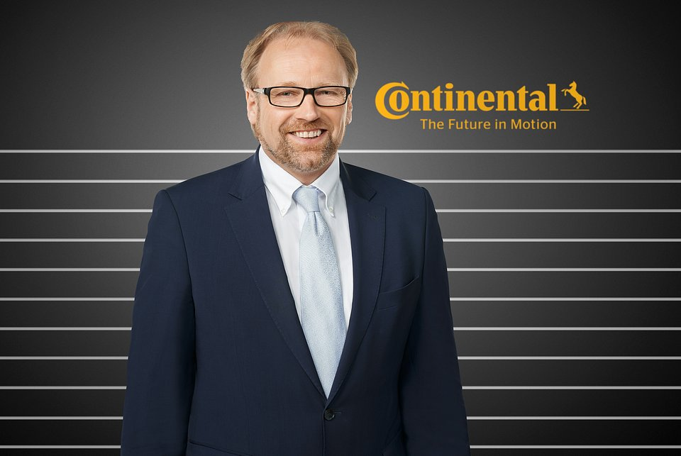 prof. dr Burkhard Wies, Vice President R&D PLT Replacement worldwide w Continental