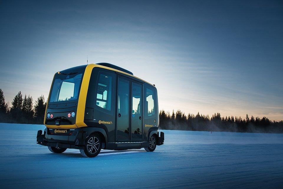 Continental opracowuje pierwsze systemy ABS dla robo-taksówek.