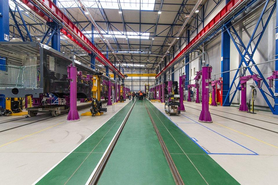Zakład Alstom w Chorzowie