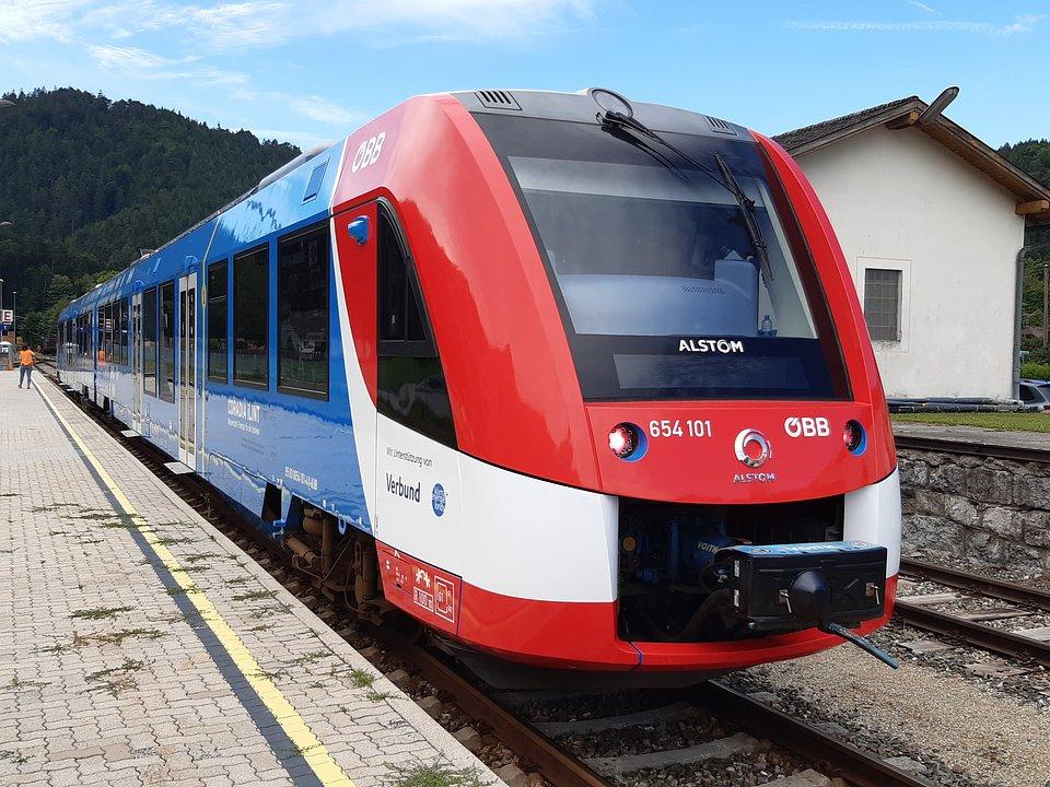 Alstom Coradia iLint na trasie w Austrii