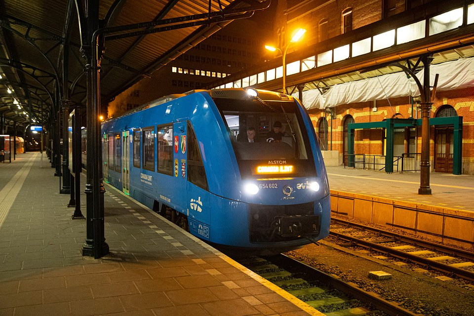 Pociąg wodorowy Alstom Coradia iLint