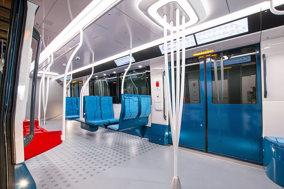Pociąg Alstom zaprojektowany do obsługi metra Grand Paris Express