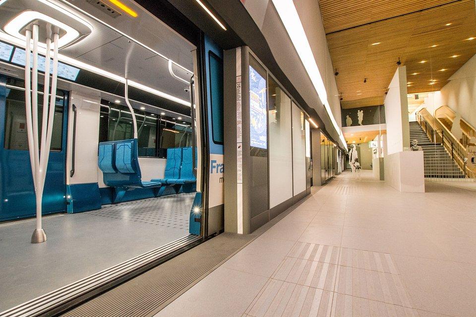 Prezentacja metra Alstom w Fabrique du Métro Société du Grand Paris