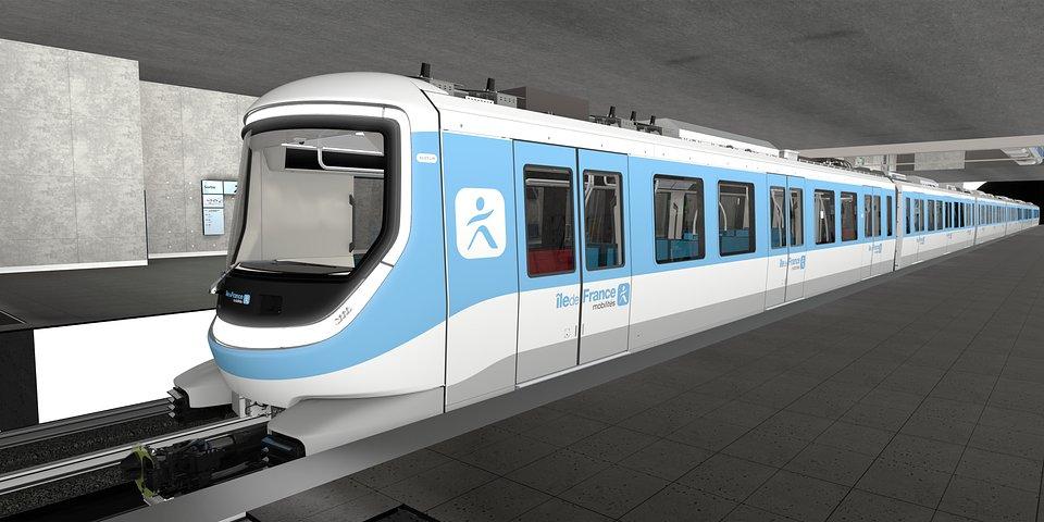 Projekt pociągu Alstom dla metra Grand Paris Express