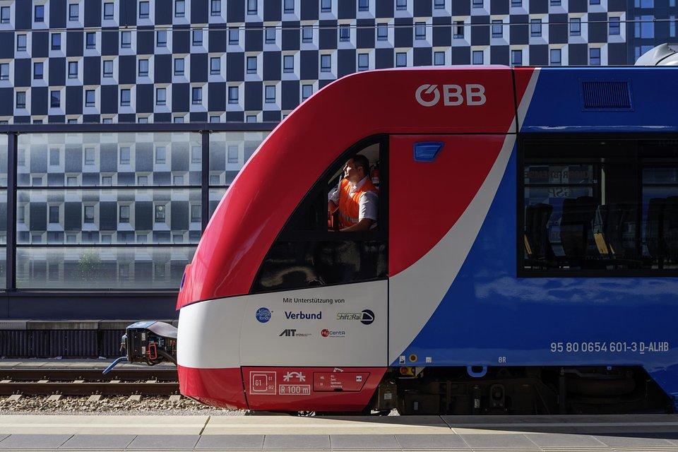 Alstom Coradia iLint w barwach Austriackich Kolei Federalnych ÖBB