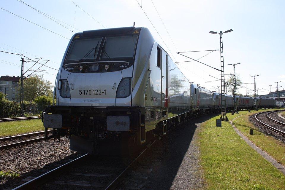 Lokomotywa Alstom Traxx DC3