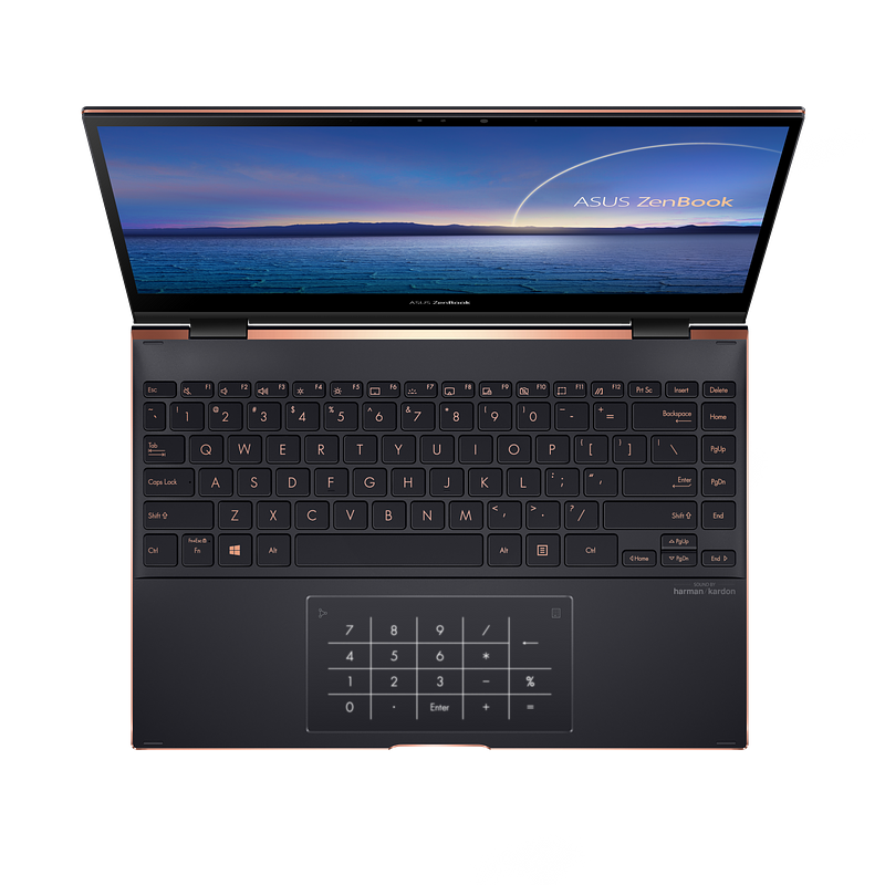 ZenBook Flip S_UX371_Efficient NumberPad for fast numeric input.png