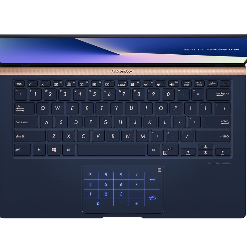 ZenBook 14_UX433_Product photo_(2B) Royal Blue_Anti-glare display (8)_NumberPad.jpg