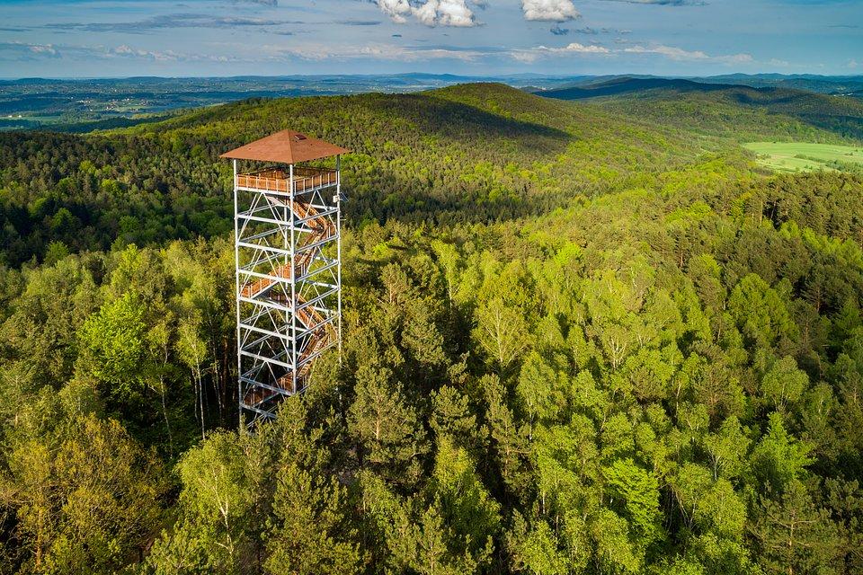 wieża widokowa Iwkowa