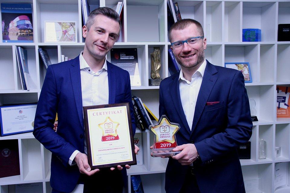 Mirosław Mikłos, Customer Experience Manager w UPC Polska oraz Konrad Skórczyński, Country Head of Customer Care w UPC Polska